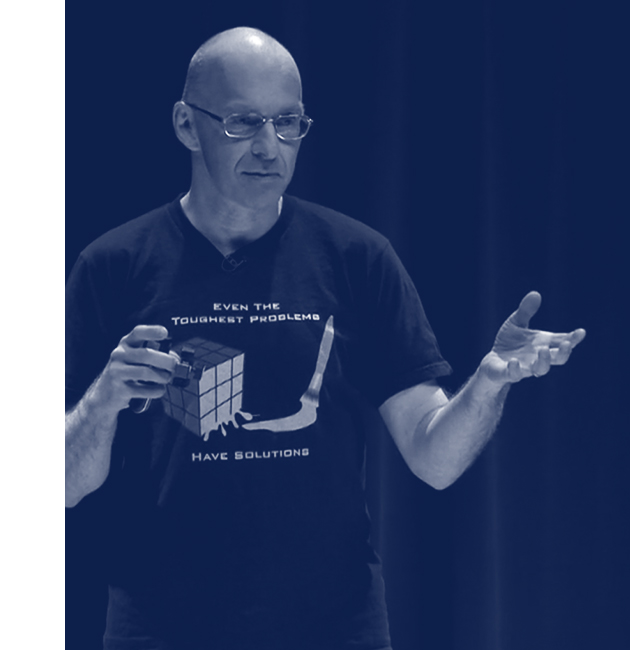 Monash STEM Talks speaker Burkard Polster
